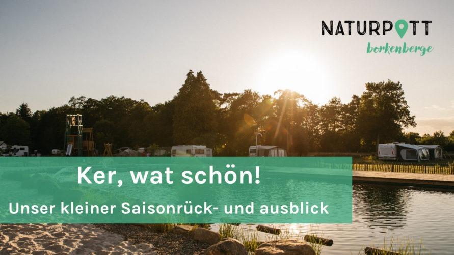Naturpott Borkenberge Jahresrückblick 2020